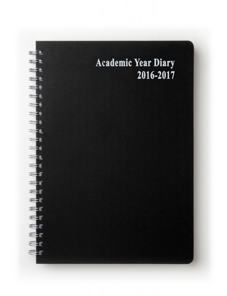 Academic Wiro 18 Month Desk Diaries 2016-2017